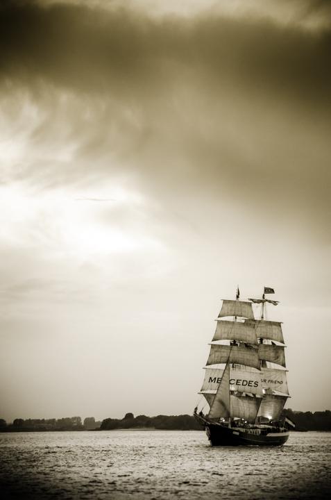 Segelschiff Oldschool 4      Stimmungsfänger