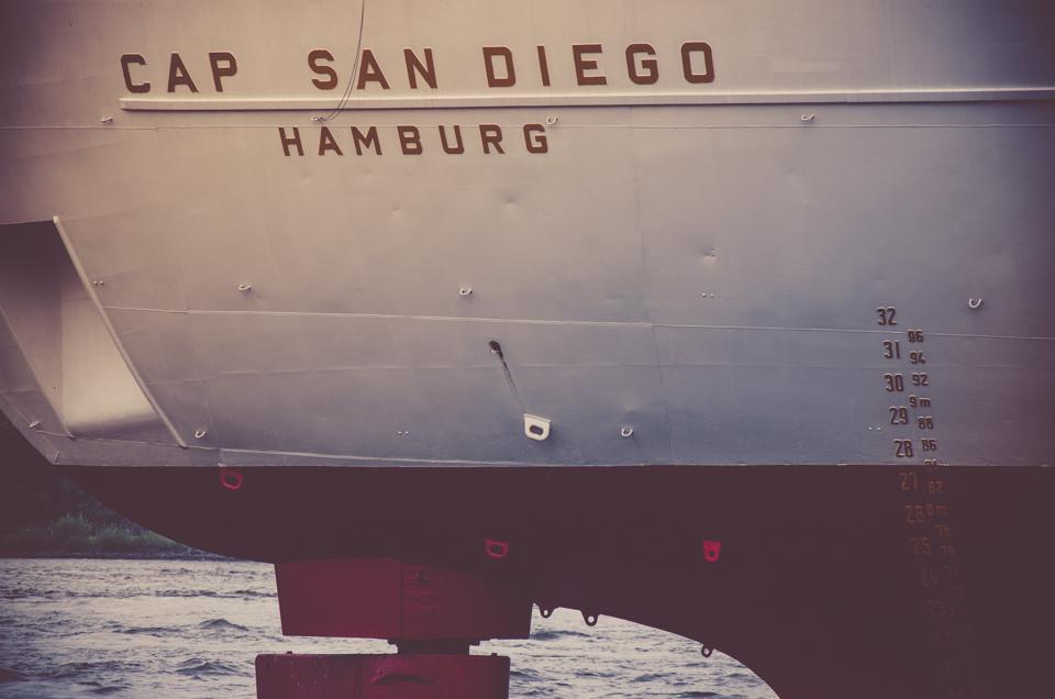 Cap San Diego Heck      Stimmungsfänger