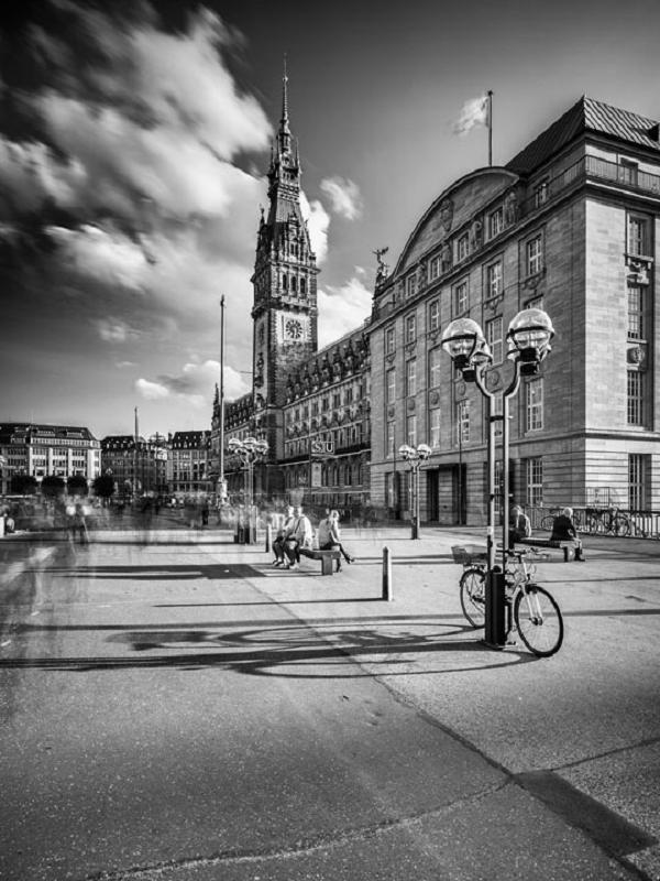 Hamburger Rathaus s/w 877 |  |