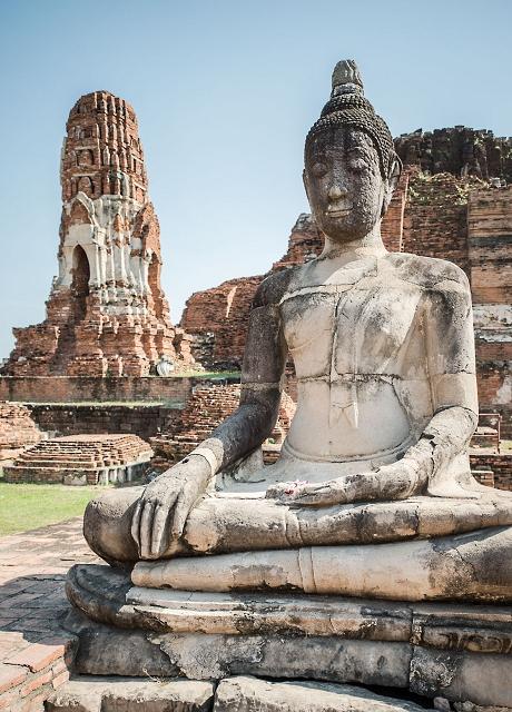 Tempel Ruine Thailand 878     