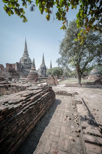 Tempel Ruine Thailand 881     