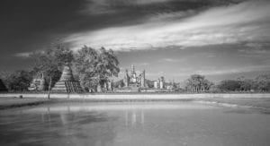 Tempel Ruine Thailand 885     