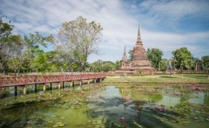 Tempel Ruine Thailand 892     