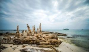 Steinskulpturen Strand Thailand 926 |  |