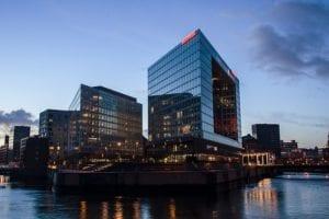 Morgendämmerung Hafencity Hamburg |  |