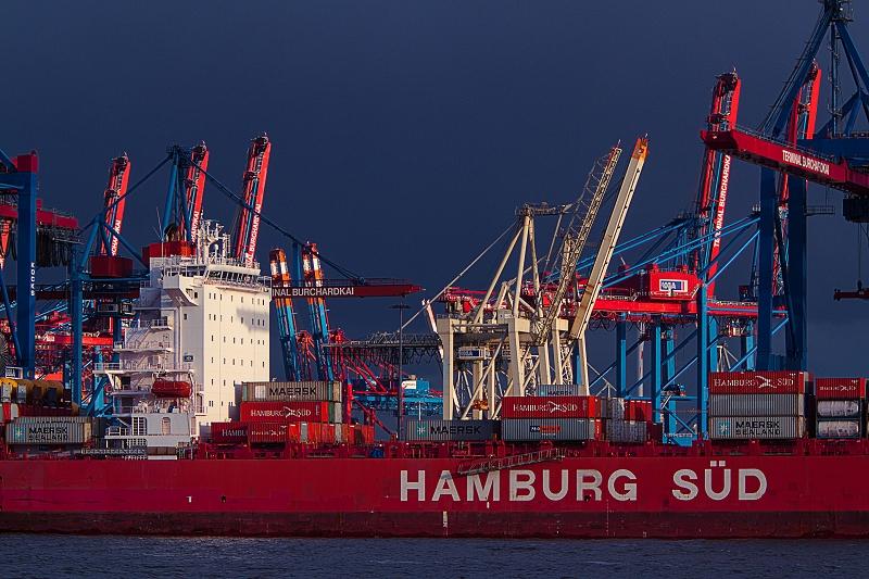 Hamburg Süd Schiff     