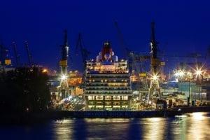 Hamburger Hafen bei Nacht m854 |  |