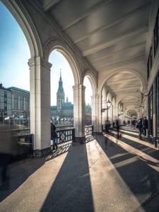 Alsterakaden mit Rathaus Motiv 1181 | Philipp Neise |