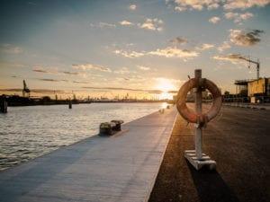 Rettungsring im Sonnenuntergang Motiv 1182 | Philipp Neise |