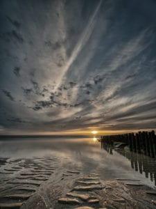 Wattenmeer im Sonnenuntergang Motiv1183  |  |