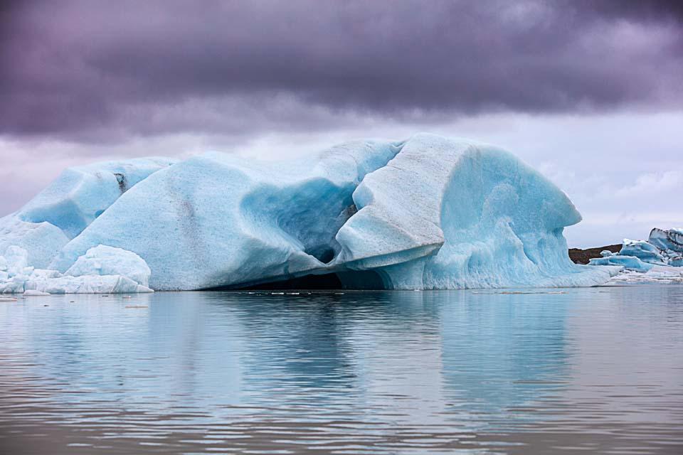 Gletscherlagune Jökulsárlón Island 990     