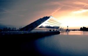 Dockland Hamburg am Abend Motiv 1107 | Sebastian Klaffka |