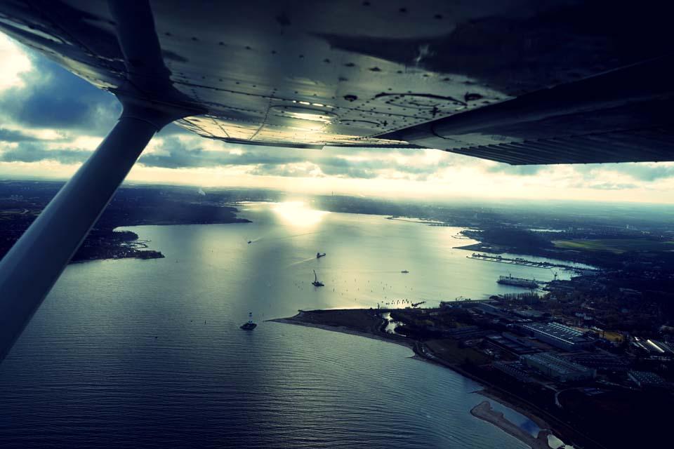 Landeanflug auf Kiel Motiv 1049 |  |