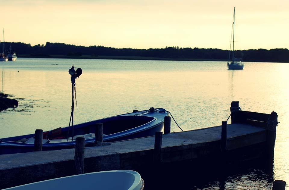 Sonnenuntergang am Wasser Motiv 1129     