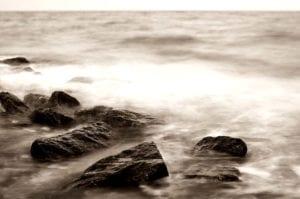 Steine im Meer Motiv 1045 | Sebastian Klaffka |