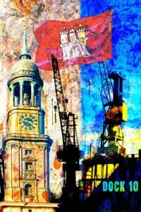 Collage Hamburg 986 | Frank Thilo Fenner |