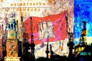 Collage Hamburg 985 | Frank Thilo Fenner |
