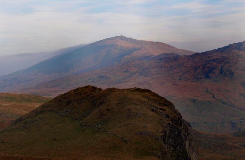 Berge Wales Großbritannien Motiv 1240     