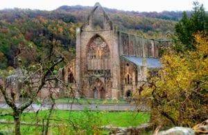 Alte Kirche Wales Großbritannien Motiv 1241 <br />Fritz Meffert <br />