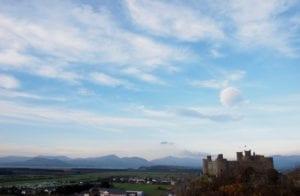 Alte Burg Wales Großbritannien Motiv 1246 <br />Fritz Meffert <br />