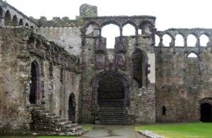Alte Burg Wales Großbritannien Motiv 1250 <br />Fritz Meffert <br />