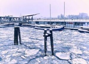 Hafen im Winter Motiv 1215 | Nasario Khan |