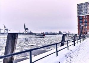 Hafen im Winter Motiv 1217 | Nasario Khan |