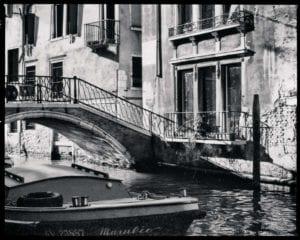 Venedig Vintage s/w Motiv 1195 <br />Nasario Khan <br />
