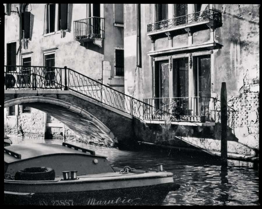 Venedig Vintage s/w Motiv 1195