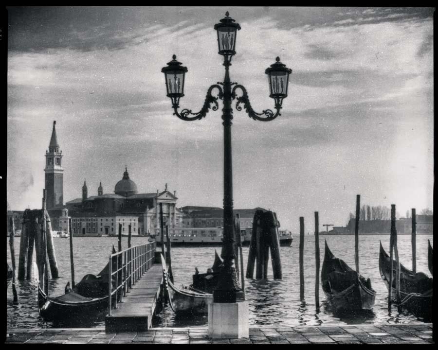 Venedig Vintage s/w Motiv 1196