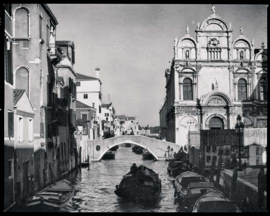 Venedig Vintage s/w Motiv 1204