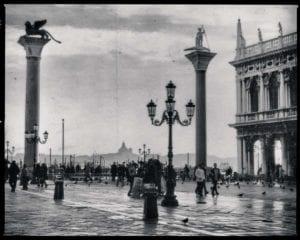 Venedig Vintage s/w Motiv 1206 <br />Nasario Khan <br />