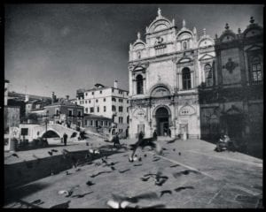 Venedig Vintage s/w Motiv 1207 <br />Nasario Khan <br />