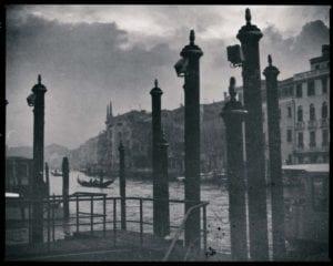 Venedig Vintage s/w Motiv 1201 <br />Nasario Khan <br />