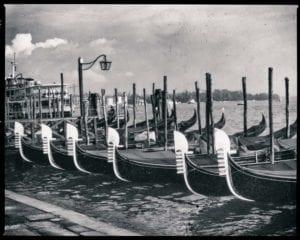 Venedig Vintage s/w Motiv 1203 <br />Nasario Khan <br />