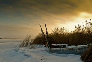 Boot im Schnee Insel Poel Ostsee Motiv 1262 |  | Matthias Enning