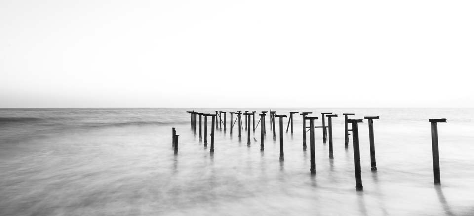Nordsee Steg s/w Motiv 1272 |  |
