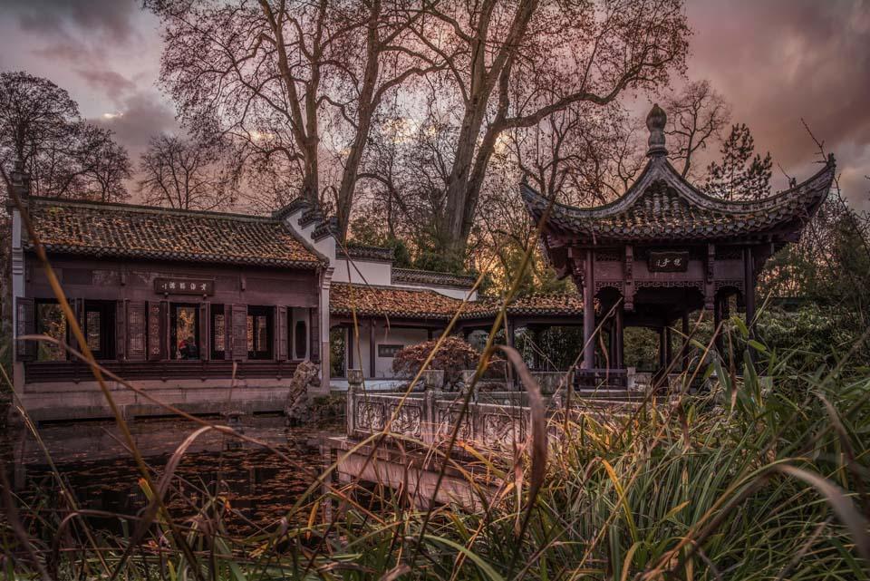 Chinesischer Garten 2 Motiv 1365 |  |