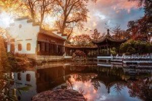 Chinesischer Garten Motiv 1366 |  |
