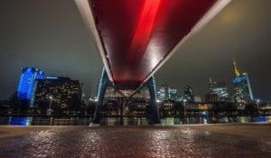 Der rote Steg Motiv 1369 | Charles Schrader |