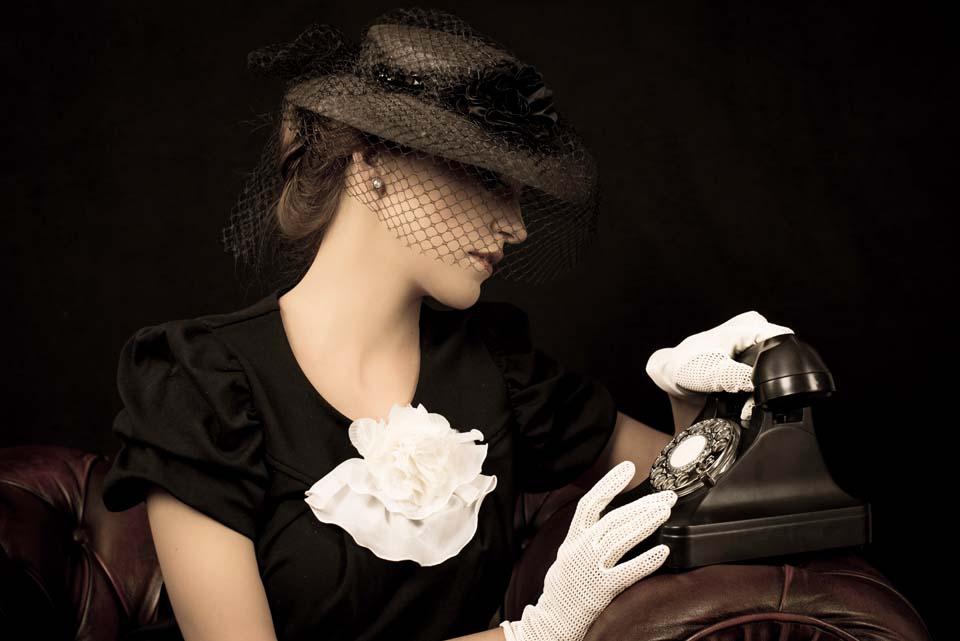 Lady in Black Motiv 1413 |  |