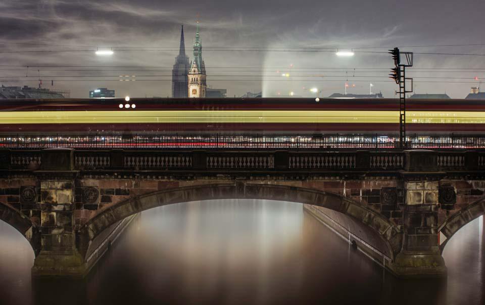 Lombard Brücke Motiv 1419 |  |