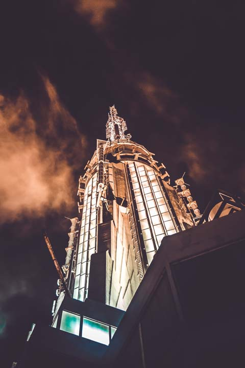 Galerie30 Empire State Building Night Top Motiv 1657