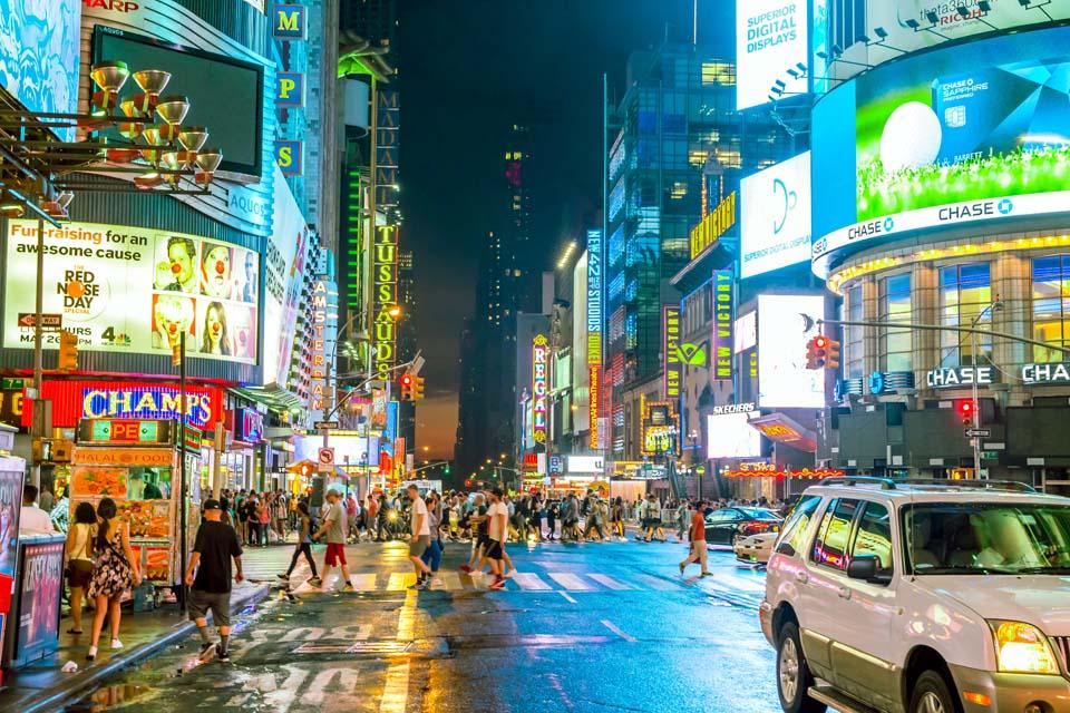 Times Square Colorful Motiv 1649     